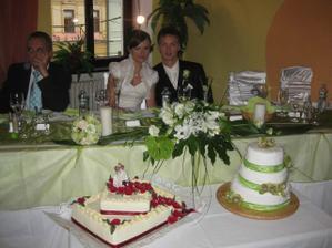 Takto sme si sedeli za svadobným stolom