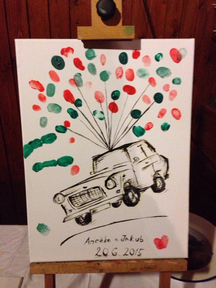 Anežka{{_AND_}}Kuba - Homemade trabant :)