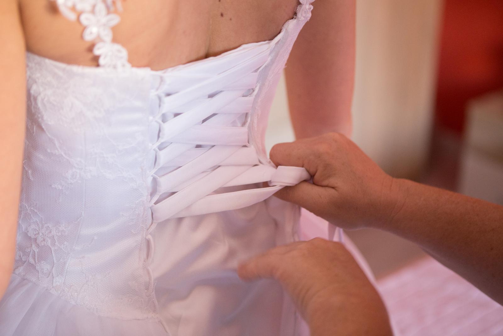 Svadobné šaty XS-S - Obrázok č. 2