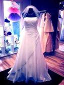 Svatební šaty vel. 38-44 s vlečkou, 42