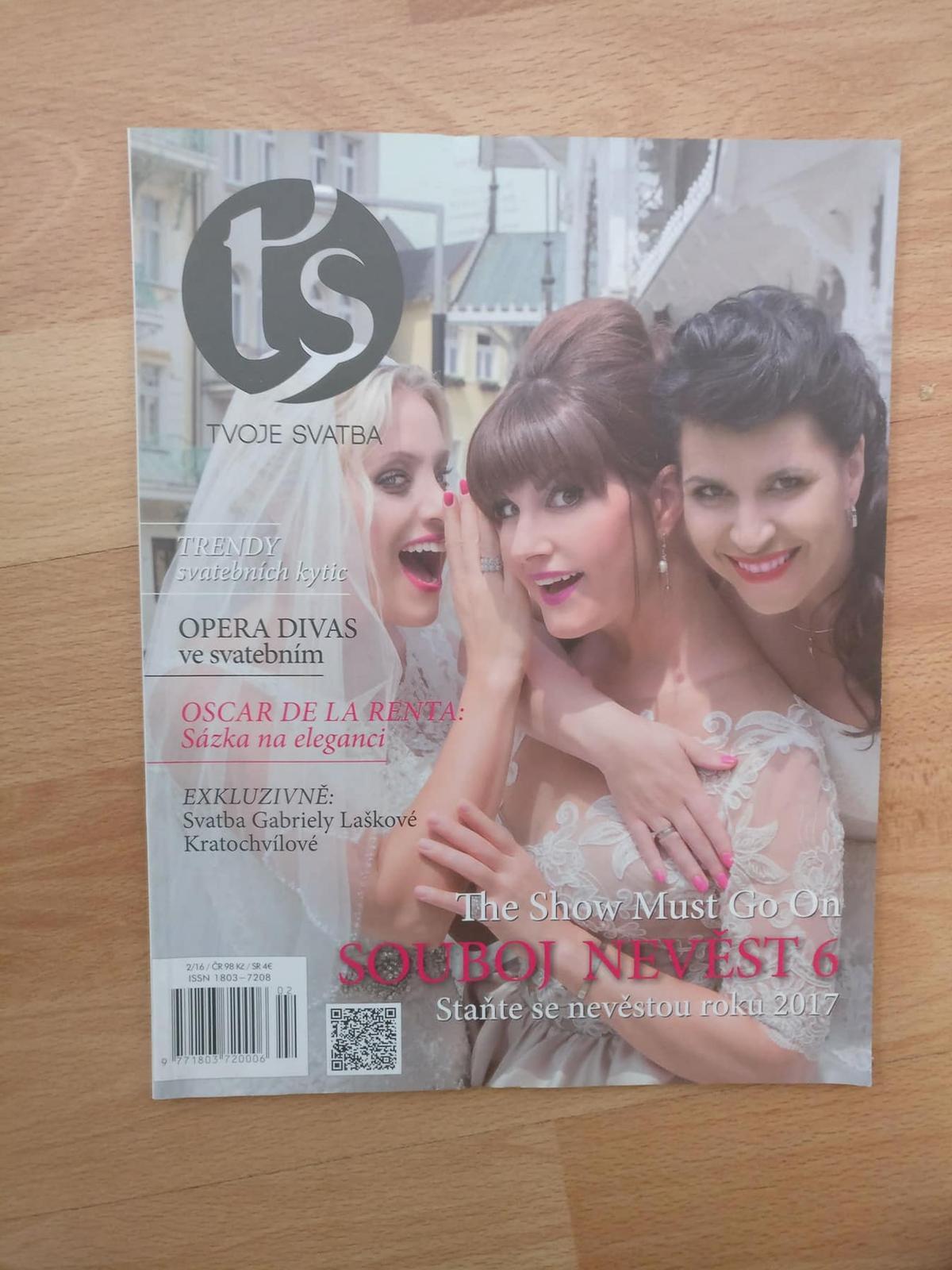 Časopis Tvoje svatba roč. 02/16 - Obrázok č. 1