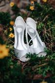 saténové svatební botičky, 40