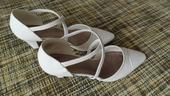 Bílé boty se špičkou, 41