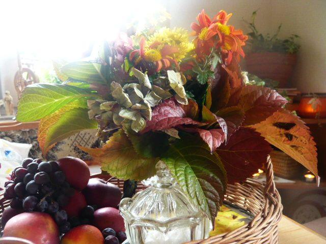 """Jesenné farbičky u nás """"na malte"""" :-) - Obrázok č. 1"""