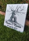 Svadobný strom- Kniha hostí,