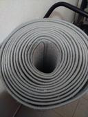 Svatební koberec běhoun šedý 10 m,