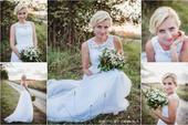 Svatební šaty cel S, 36