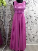 Spoločenské šaty fialové, 36