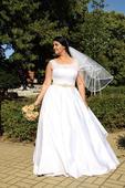 svatební šaty vel 42-48, 48