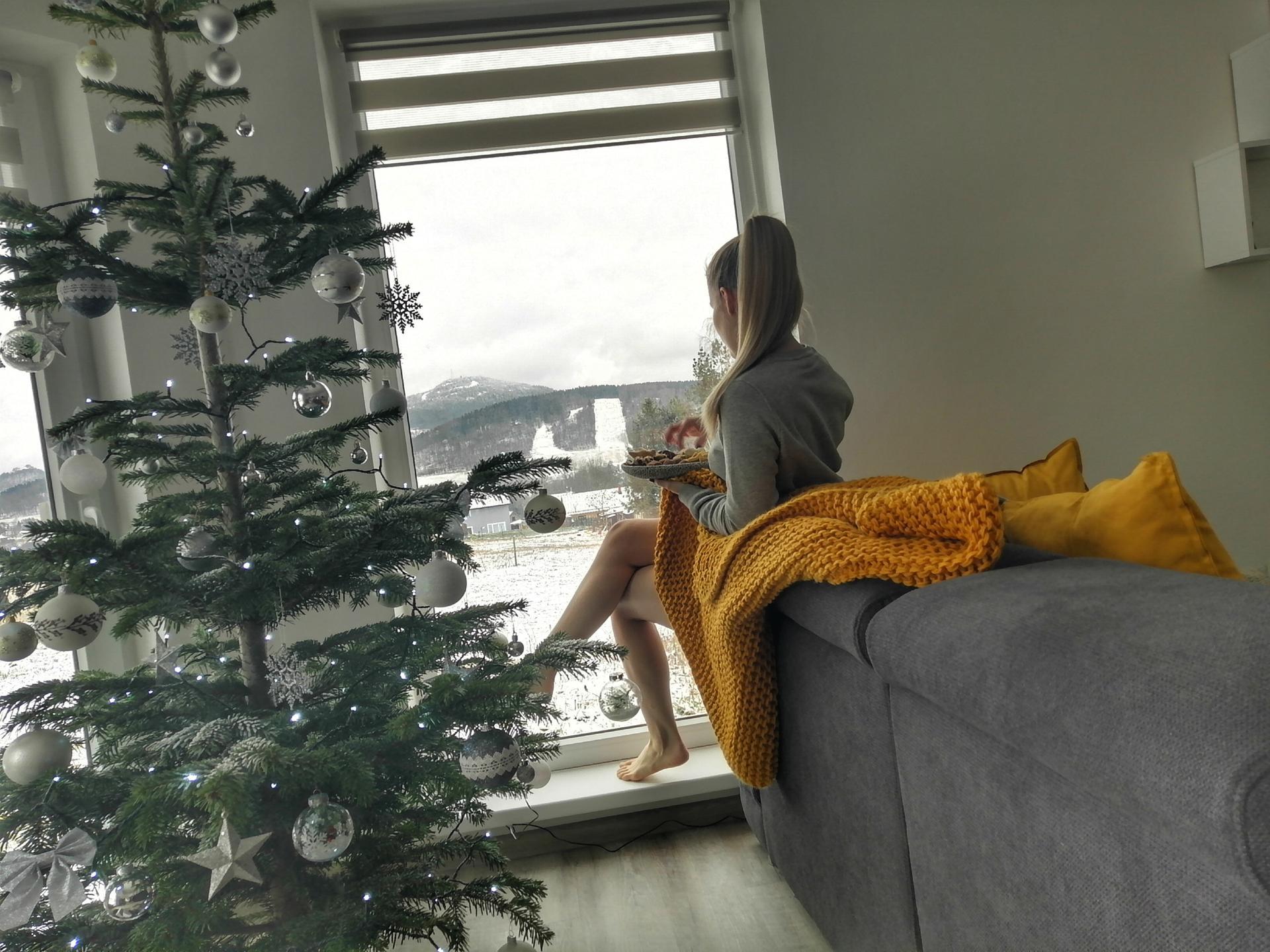 Pro nás to byly první společné a také nejkrásnější Vánoce. Máme jakž takž zařízeno a konečně se tu pomalu začínám cítit jako doma. Všem moc děkuji za zdejší inspiraci a rady, bez Modré střechy bychom to určitě neměli tak krásné. 😁 Užívejte ještě volna a klidu. 😊 P. S. Nikdy bych neřekla, že budu mít takovou radost z povlečení, dek a pomocníků do kuchyně pod stromečkem... Asi stárnu😁 - Obrázek č. 1