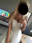 Svatební šaty s flitry, 40