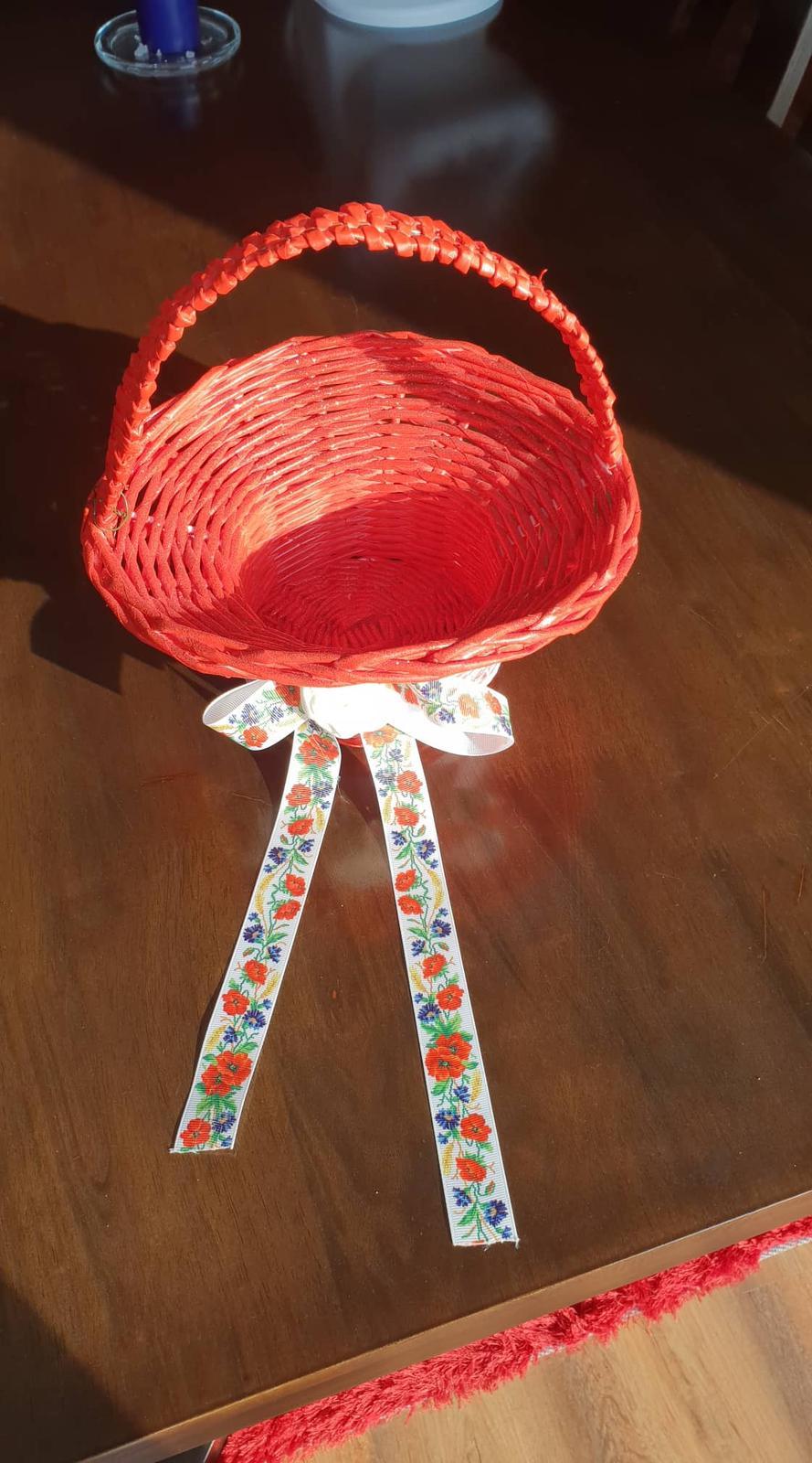 Košík na dukáty na redový tanec - Obrázok č. 4