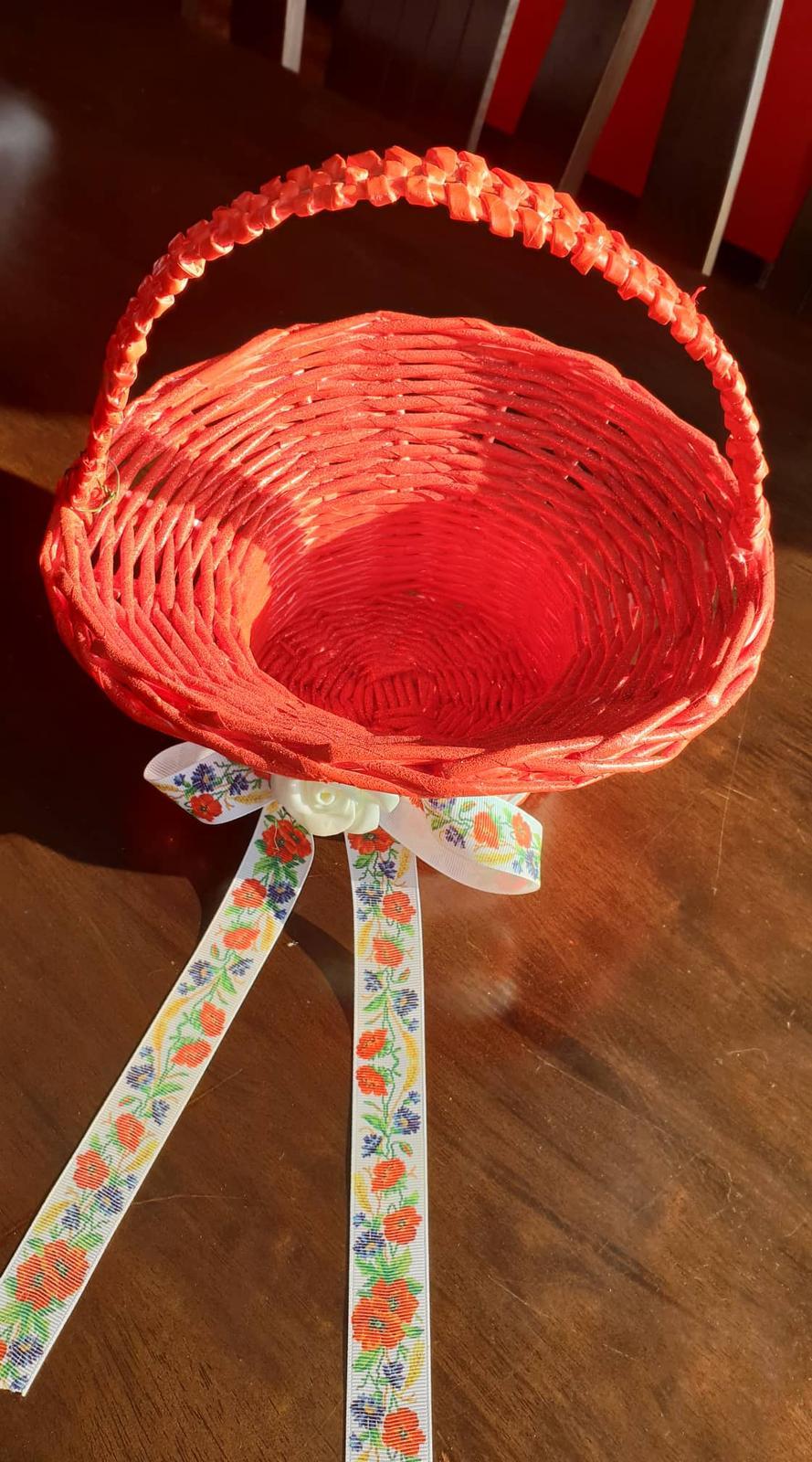 Košík na dukáty na redový tanec - Obrázok č. 2