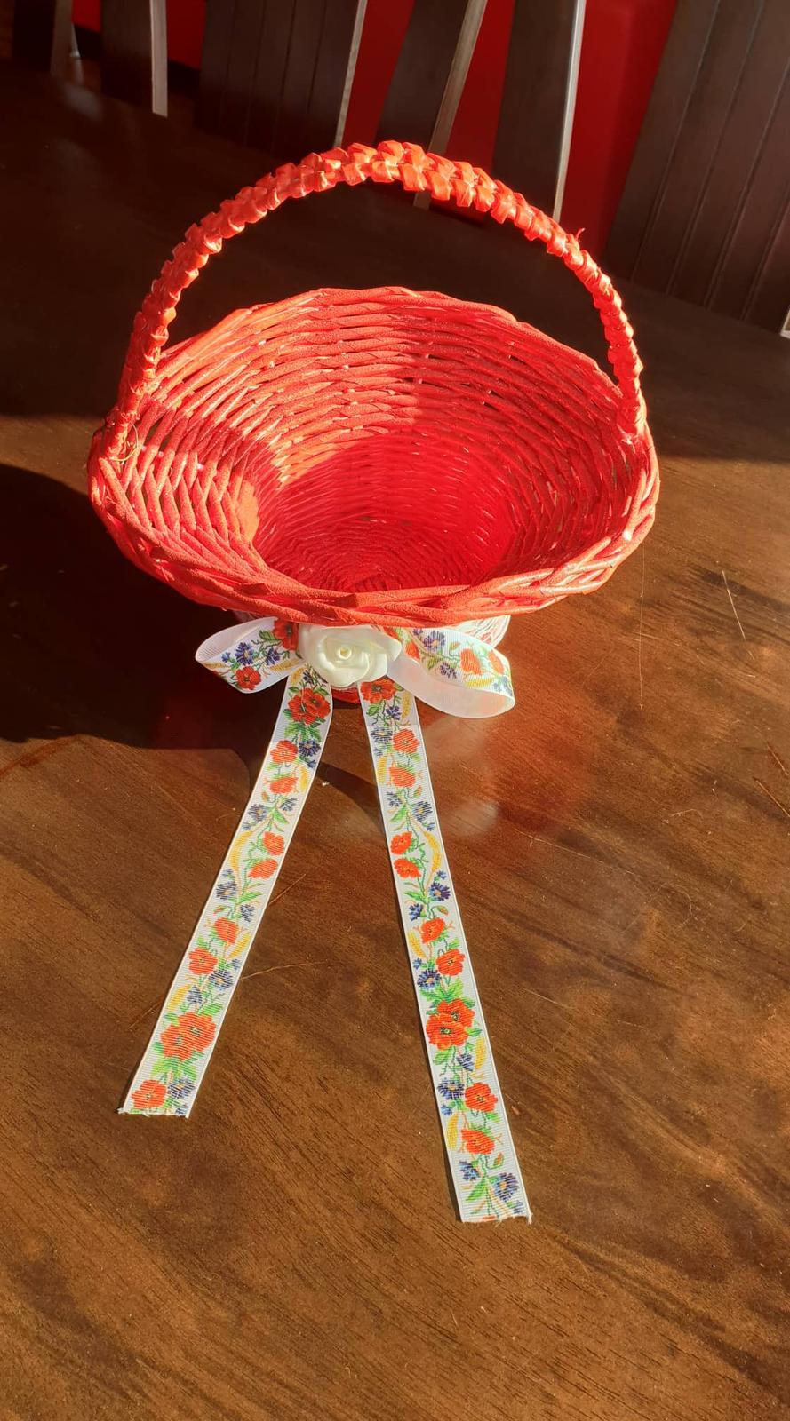 Košík na dukáty na redový tanec - Obrázok č. 1