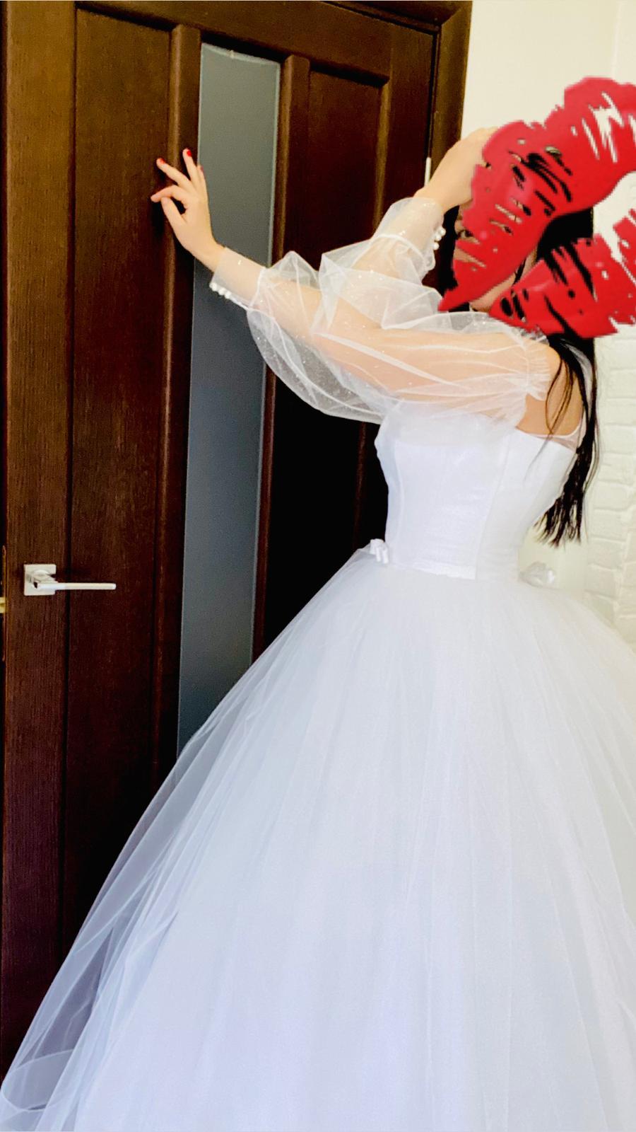 svatební saty boho z vleckou - Obrázek č. 1