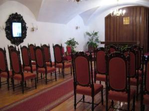 Zámecká obřadní síň v Náměšti nad Oslavou