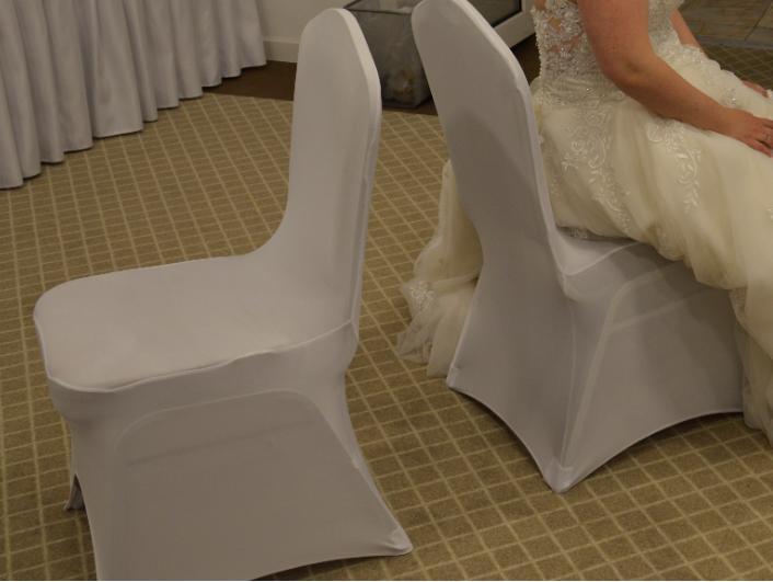Univerzalne biele navleky na stolicky do 100cm - Obrázok č. 2
