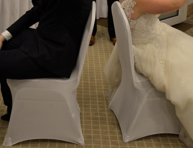 Univerzalne biele navleky na stolicky do 100cm - Obrázok č. 3