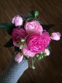 Umělé květy na výzdobu,