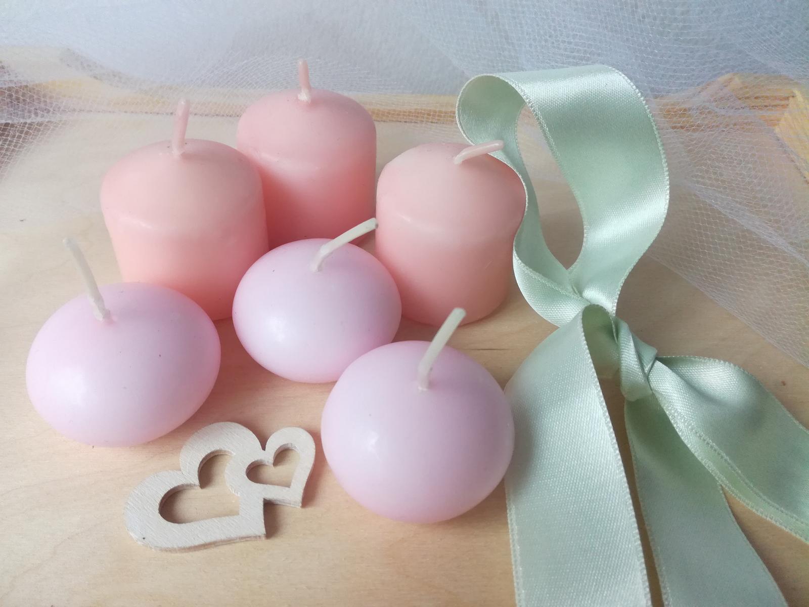 Růžové svíčky - Obrázek č. 2