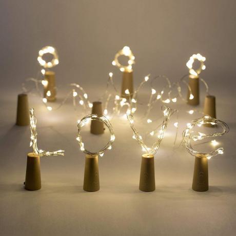 LED zátka světelný řetěz - Obrázek č. 1