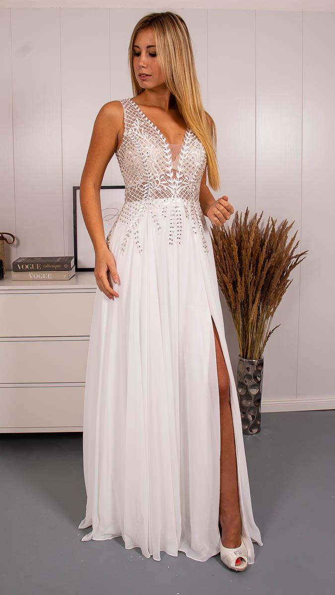 Svatební šaty s rozparkem - Obrázek č. 1