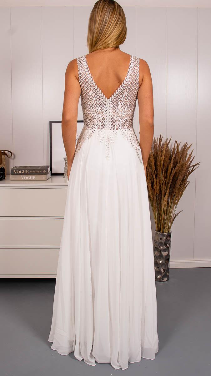 Svatební šaty s rozparkem - Obrázek č. 3
