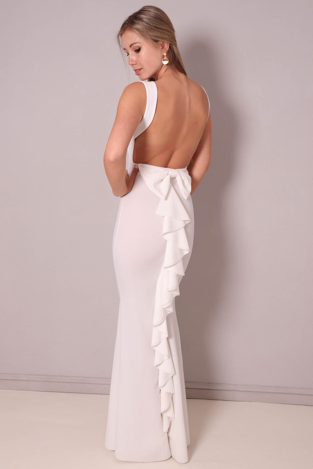 Svatební šaty s mašlí - Obrázek č. 4