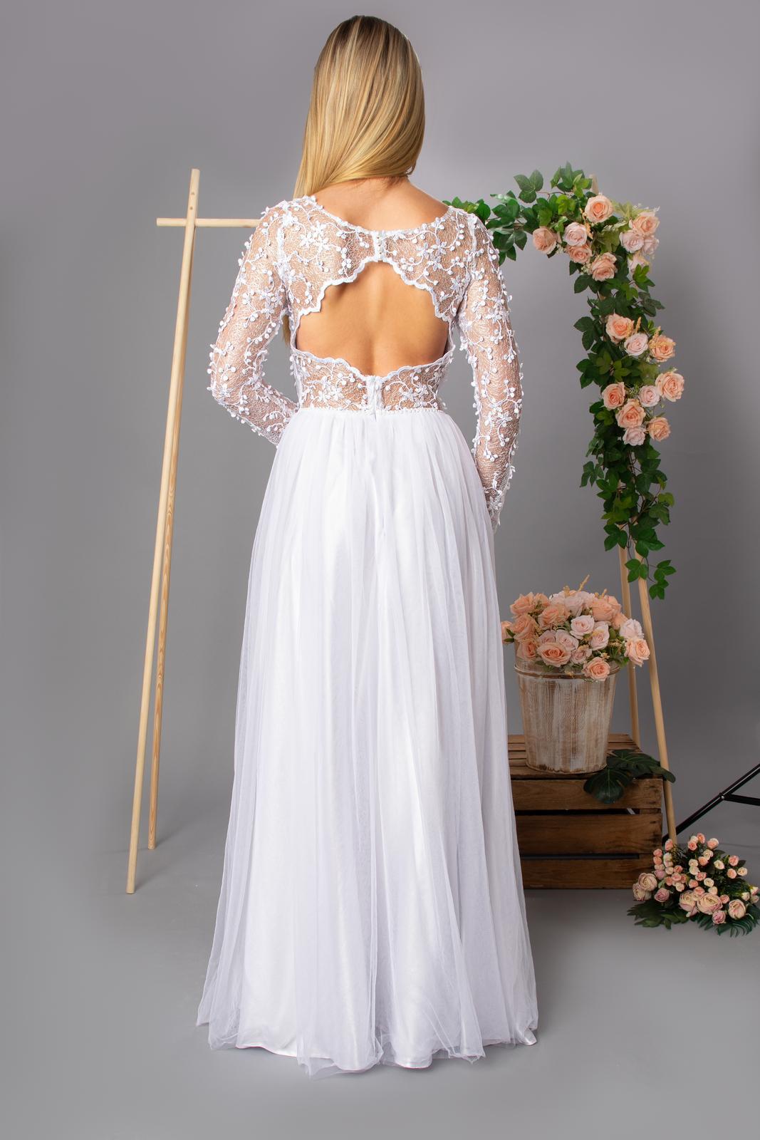 Svatební šaty se zdobením - Obrázek č. 2