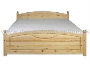 manželská posteľ - rozmýšľam, či ju namoriť na bielo - čo vy na to?