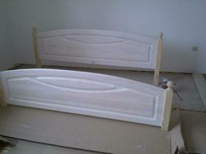 Manželská posteľ - bude BIELA :-)