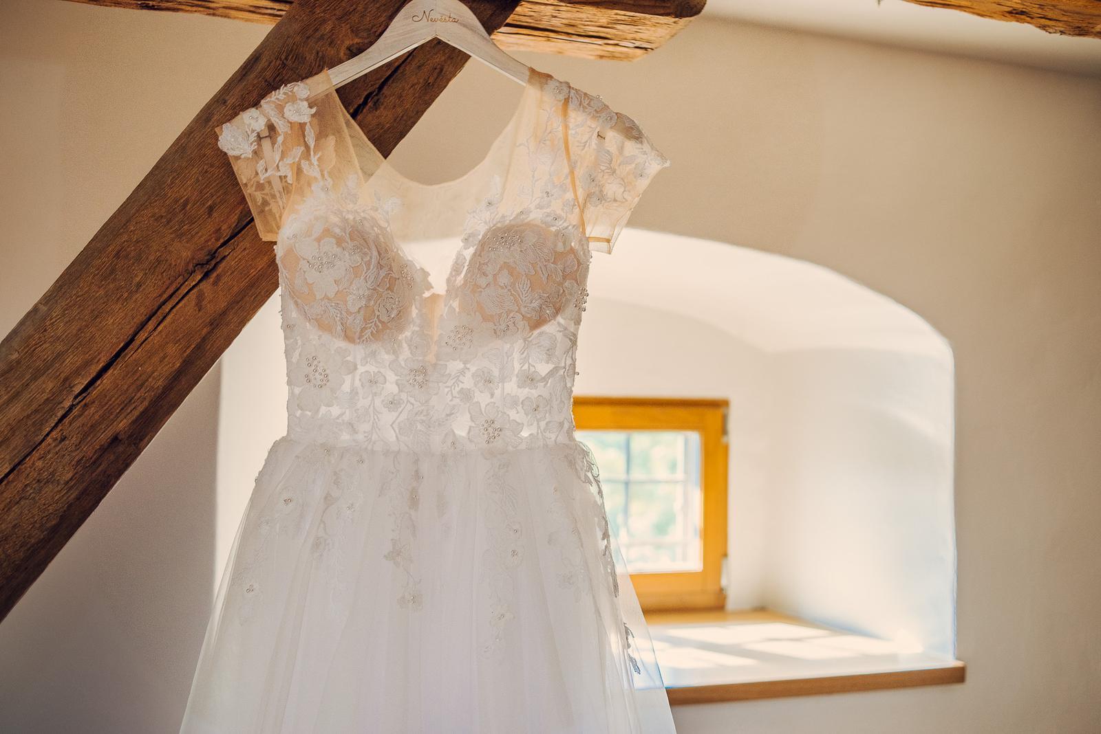Svatební šaty Elody, vel. 34/36 - Obrázek č. 1