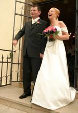 novomanželé Šrubařovi :)