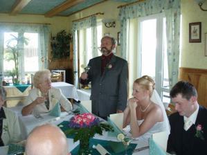 projev tatínka nevěsty