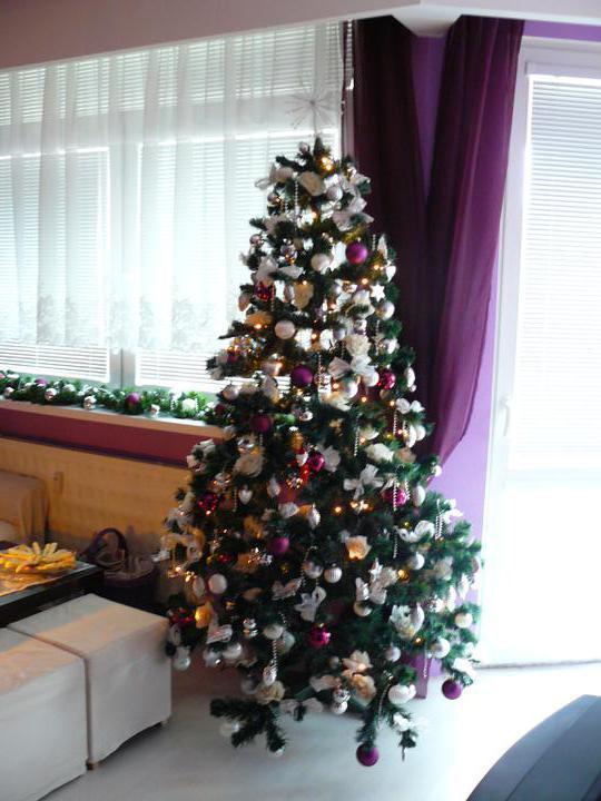 Rekonštrukcia bytu - vianočný stromček 2009