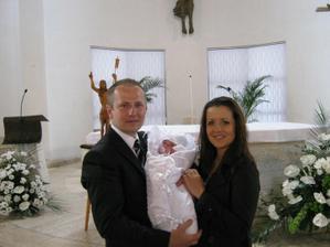Krst nášho anjela :)