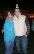 já s Honzou na Silvestra :))