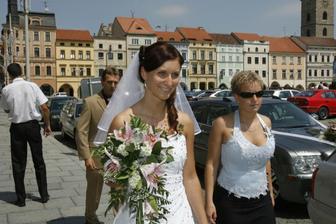 kamarádky svatba
