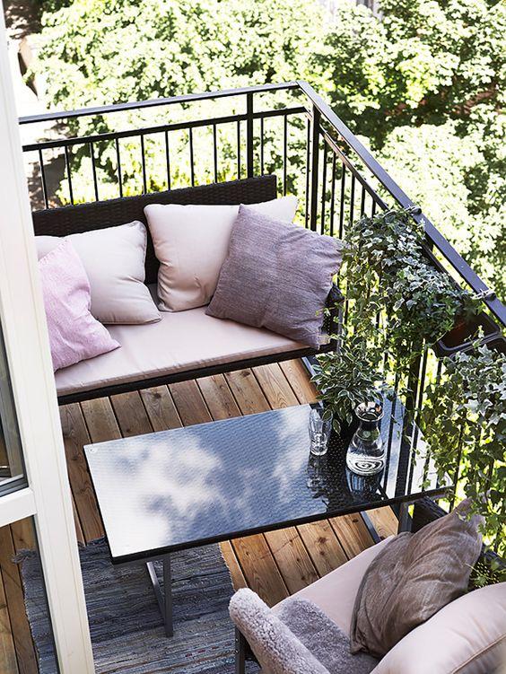 Balkony a malé terasy - Obrázek č. 23