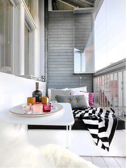 Balkony a malé terasy - Obrázek č. 30