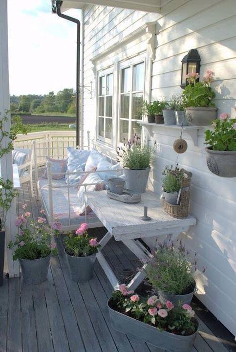 Balkony a malé terasy - Obrázek č. 35