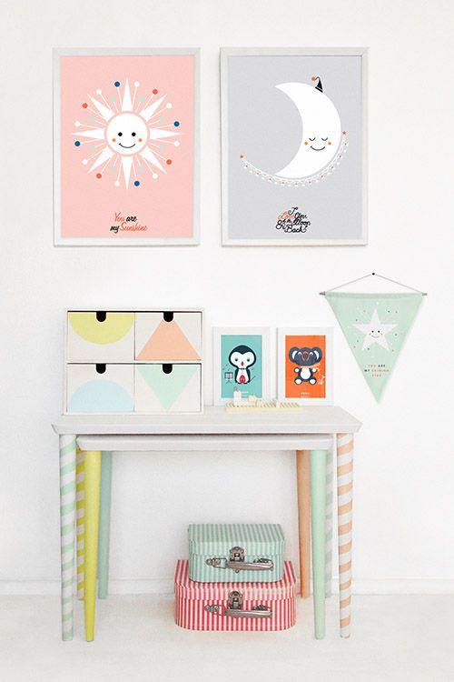 Nápady do dětských pokojů....pro dětský úsměv,šikovné ručičky a rozzářená očička - Obrázek č. 65