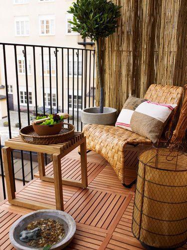 Balkony a malé terasy - Obrázek č. 37