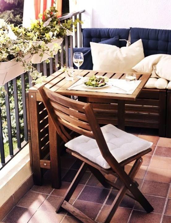 Balkony a malé terasy - Obrázek č. 44