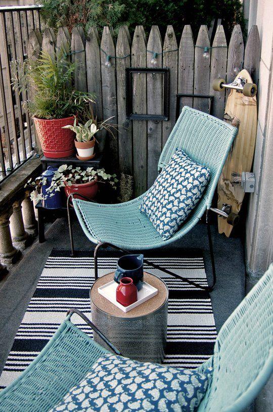Balkony a malé terasy - Obrázek č. 47