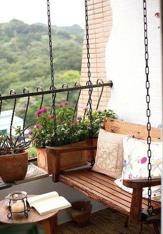 Balkony a malé terasy - Obrázek č. 51
