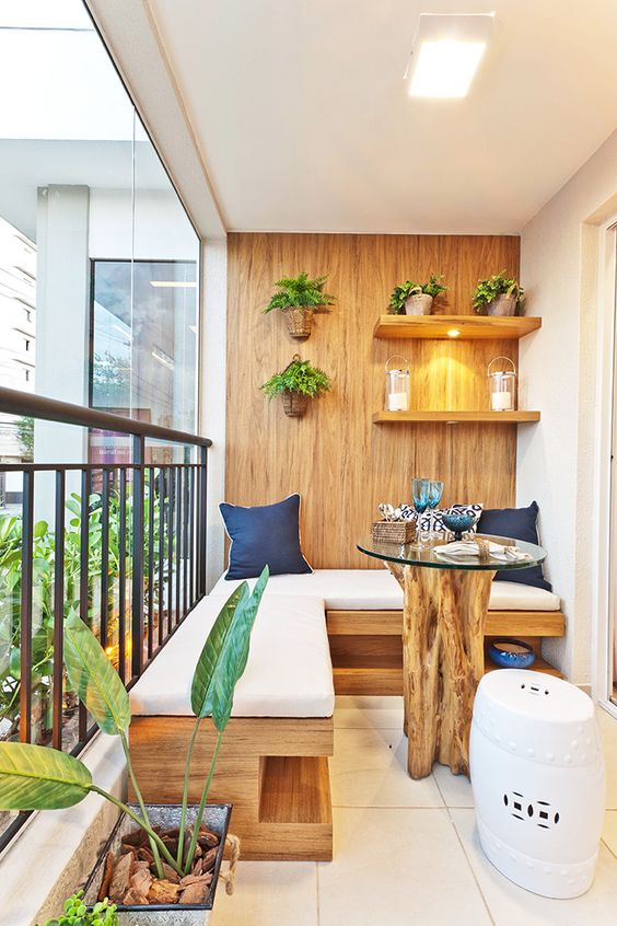 Balkony a malé terasy - Obrázek č. 53