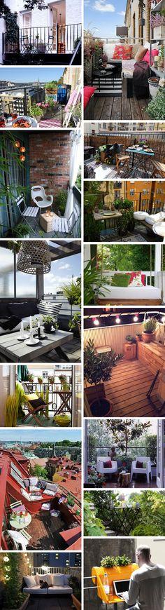 Balkony a malé terasy - Obrázek č. 58