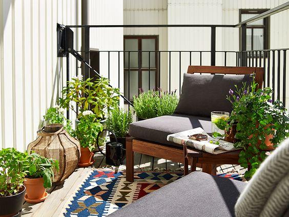 Balkony a malé terasy - Obrázek č. 59