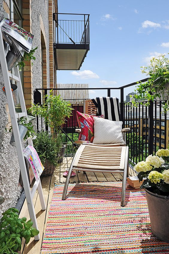 Balkony a malé terasy - Obrázek č. 60